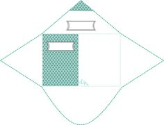 Printable Envelope Green