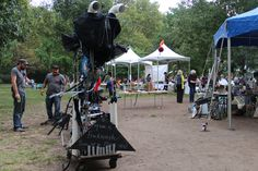 Puppet Phactory Bicycle Frack Monster