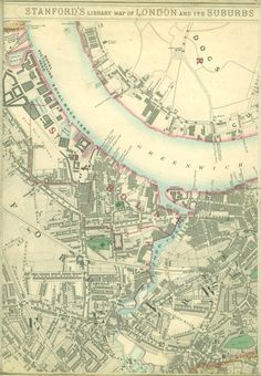 Deptford in 1862