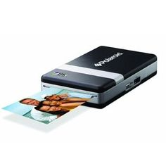 Polaroid PoGo Bluetooth Mobile Printer ..I use this to instantly print photos from my phone. With the pogo app I make the pictures into mini polaroids with text. They have self adhesive backs. Excellent for smashbooks!!!!