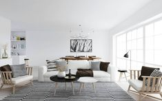 Decor 101: Black, White and Gold Living Room {with tribal accents} | Design Your Home With Style