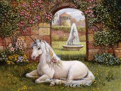 Unicorns - The Gallery - Unicorn Artwork - Pegasus Images - Unicorn Pictures Fantasy Unicorn, Unicorn Oil, Unicorn And Fairies, Magical Unicorn, Beautiful Unicorn, Unicorn Images, Unicorn Pictures, Horse Pictures, Magical Creatures
