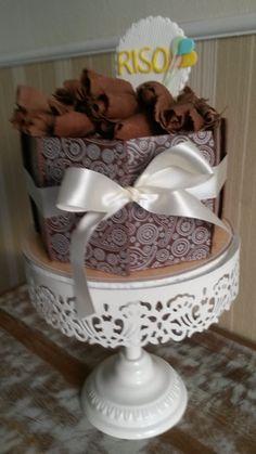 Bolo de chocolate com charme