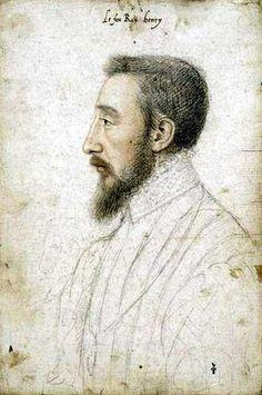 Henri II en 1547, musée Condé, François Clouet
