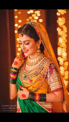 beautiful bride of south india. she is looks so pretty. Pakistani Wedding Outfits, Pakistani Bridal Dresses, Wedding Dresses, Bridal Outfits, Wedding Wear, Wedding Bride, Bridal Poses, Bridal Portraits, Ayeza Khan Wedding