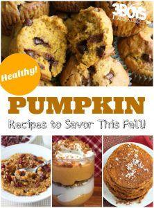 15 Healthy Pumpkin Recipes
