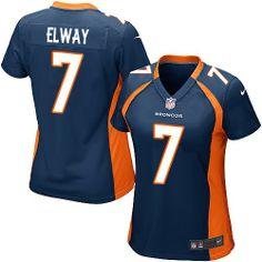 John Elway Game Jersey-80%OFF Nike John Elway Game Jersey at Broncos Shop. (Game Nike Women's John Elway Navy Blue Jersey) Denver Broncos Alternate #7 NFL Easy Returns.