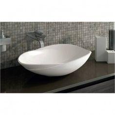 Mineralguss Aufsatz-Waschschale Filino 628x436x162 mm