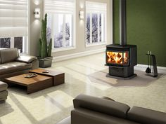 Buy Osburn 2200 Wood Burning Free Standing Leg or Pedestal Stove Classic Look at online store Modern Wood Burning Stoves, Wood Burning Fires, Wood Stoves, Stove Fireplace, Wood Fireplace, Fireplaces, Freestanding Fireplace, Wood Windows, Cool Beds
