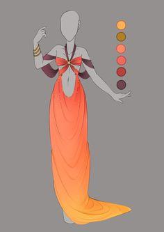 :: September Commission 03: Outfit design :: by VioletKy on DeviantArt