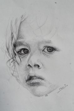 manu Ivo Staes Children Sketch, Art Techniques, Sketching, My Arts, Portraits, Drawings, Face, Painting, Inspiration
