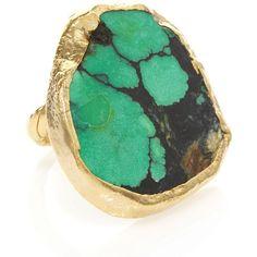 i looove dara ettinger rings :)   -Dara Ettinger Chelsea Turquoise