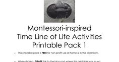 Montessori-inspired Time Line of Life Activities Printable Pack 1.pdf