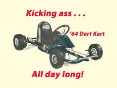 Vintage With A Modern Twist 1964 Rupp Dart Kart Go-Kart Print picclick.com