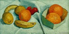 Paula Modersohn-Becker - Still Life with Oranges, Bananas, Lemons and Tomatoes