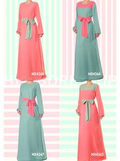 Hijab Dress Up #Pastel #Chiffon #HijabDressUp