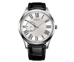 Zenith Heritage Elite Ultra Thin Men's Strap Watch : Zenith : Watches : Product Catalogue : Berry's