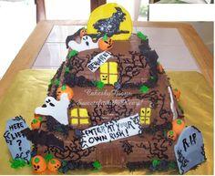 Haunted House — Halloween cakepins.com