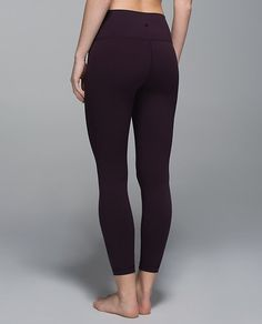 High Times Pant. Black Cherry. Size 8.