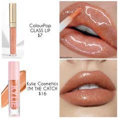 Makeup Tricks, Best Drugstore Makeup, Drugstore Makeup Dupes, Lipstick Dupes, Colourpop Cosmetics, Makeup Brands, Lipsticks, Makeup Eye Looks, Skin Makeup