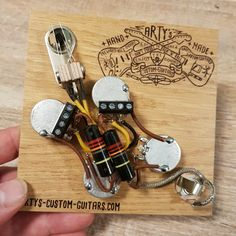 custom guitars Absolutely perfect for all non-soldering iron owners, and anti-hobbyists who have so far been afraid to buy such a kit! This solderless, prewired kit should be installabl Gibson Sg, Fender Stratocaster, Custom Guitars, Kit, Vintage Paper, Soldering Iron, Connect, Easy, Guitars