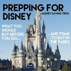 saving money at disney
