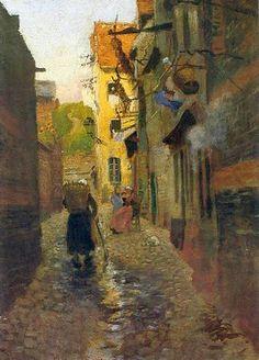 Frits Thaulow (1847-1906) Wonderful Norwegian Painter (2)