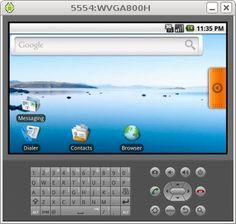 Test Android Simulator