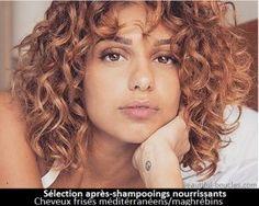 Choisir son après-shampooing pour cheveux bouclés, frisés ou crépus, secs. Ingrédients hydratants et nourrissants. Sélection produits par type de cheveux.