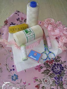Eli&Art: Como coser Falda Fallera (confección paso a paso)....