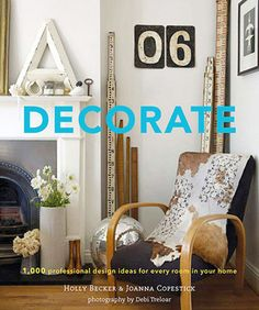 Decorate. Coffee table book.