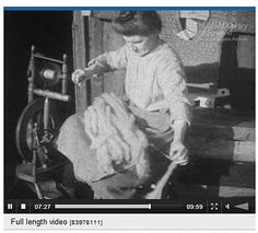 """""""In Sheep's Clothing"""" video of the sheep-to-sweater process made in Shetland in 1932. Blog post has a link to the National Library of Scotland's Screen Archive."""