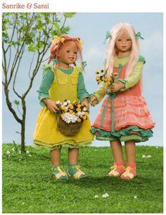 Коллекционная кукла Sanrike от Annette Himstedt