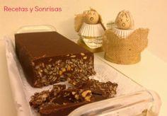 Turrón de chocolate! #christmas #food #chocolate #recipe  http://recetasysonrisas.blogspot.com.es/2013/12/turron-de-chocolate.html