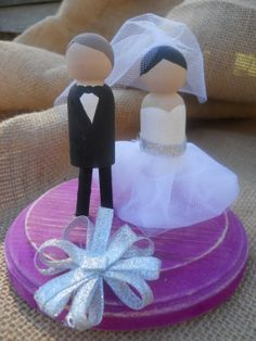 Custom Made Cake Topper Wooden Rustic by ButtermilkBayCrafts, $45.00