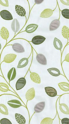 At last! After a two year search I have found the fabric I've been dreaming of! Home Decor Print Fabric- Waverly Leaflet Emb Honeydew
