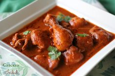 Ruchik Randhap (Delicious Cooking): Chicken Indad ~ Mangalorean Catholic Style Hot, Sour & Sweet Chicken Curry ~ When The Hubby Cooks!