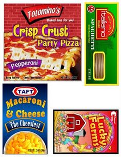 play food printable labels