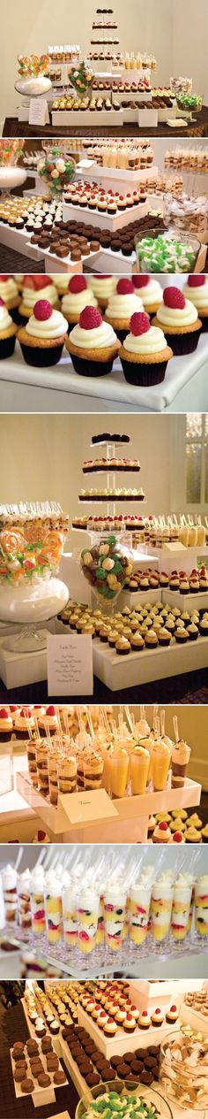 wedding trend ~ dessert bar