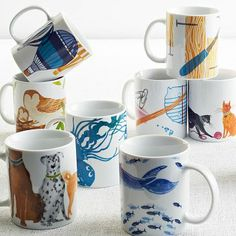 Love these charity mugs from West Elm!