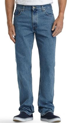 Brittania From Levi's Relaxed Fit Men's 100% Cotton Jeans Size 38 X 34 NWT #Brittania #Relaxed