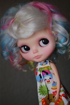 """Rainbow Curls - """"Jam"""" custom no. 93   Flickr - Photo Sharing!"""