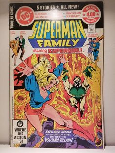 (2) SUPERMAN FAMILY Comics 216 217 / $10 DELVERED / Bronze Age 2-Pack Sale