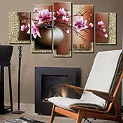 """36"""" Country Style Lotus Wall Clock In Canva 5... – USD $ 119.99"""