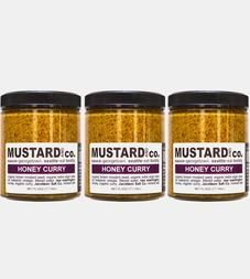 Mustard & Co.: Honey Curry Brown Mustard, 3-Pack @ Scoutmob ($21)