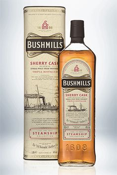 Product Launch - Casa Cuervo has lined up the first in a limited edition series of limited edition iterations of its Bushmills Irish whiskey brand. Whisky Bar, Cigars And Whiskey, Malt Whisky, Scotch Whiskey, Bourbon Whiskey, Whiskey Bottle, Irish Alcohol, Bartender Mix, Irish Whiskey Brands