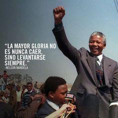 SINO LEVANTARSE SIEMPRE!!! #nelson #mandela