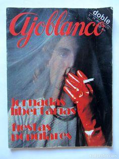 Coleccionismo de Revistas y Periódicos: AJOBLANCO LOTE DE 28 REVISTAS (1975/1977/1978+ NUEVA ÉPOCA (1988/1992)VER FOTOS Y DESCRIPCIÓN - Foto 22 - 67251977