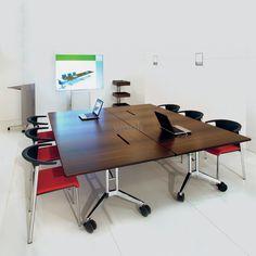confair table rectangulaire wooh store reunion collectivite et mobilier de bureau