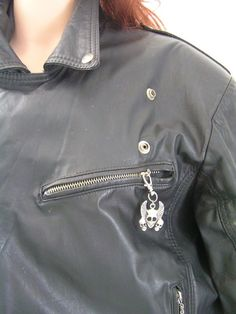 Zipper Pull - Skull, Great Biker Gift - Lots of Designs available